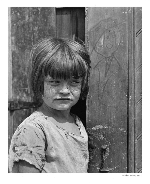 Child in Back Yard (Walker Evans, 1932)